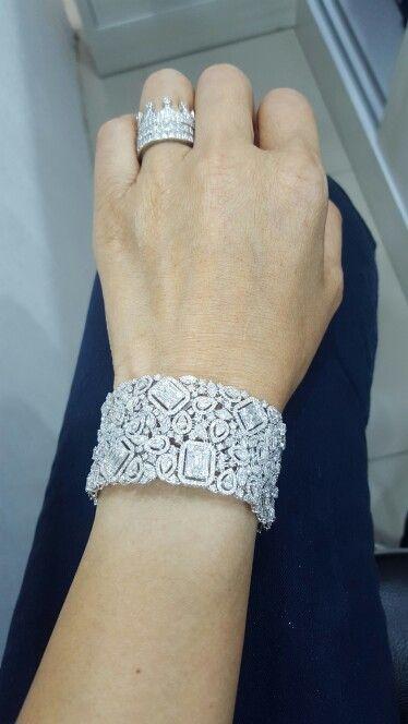Diamonds bracelet...