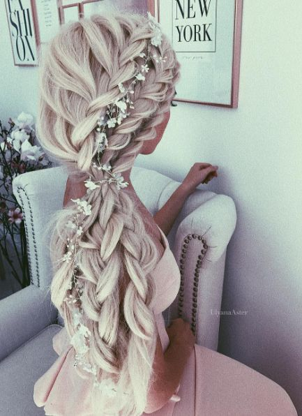 Featured Hairstyle: Ulyana Aster;ulyanaaster.com; Wedding hairstyle idea....
