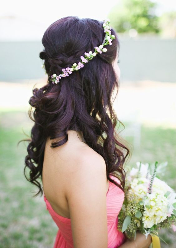 Featured Photographer: Adrienne Gunde Photography; Wedding hairstyle idea....