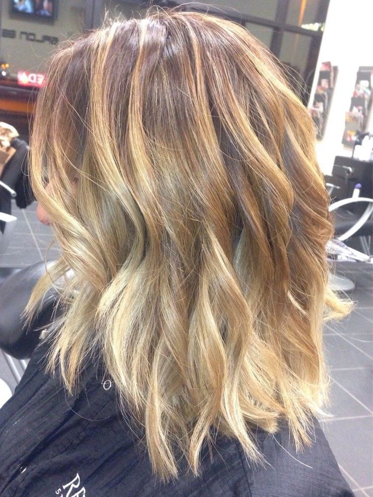 11 Bombshell Blonde Highlights For Dark Hair   Gorgeous Hairstyle Ideas by Makeu...