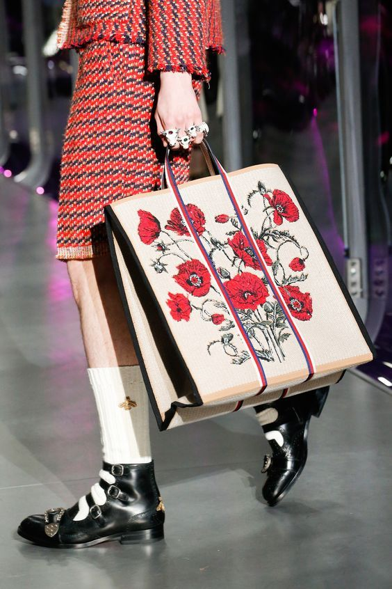 Gucci Fashion Show Details...
