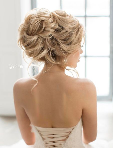 Featured Hairstyle: Elstile; www.elstile.ru; Wedding hairstyle idea....