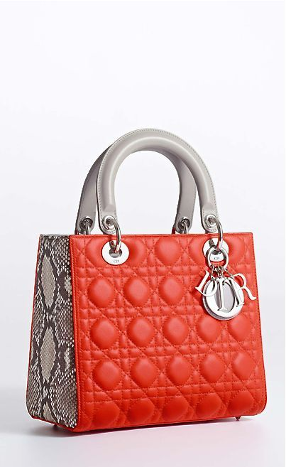 Lady Dior Handbags Collection & more details...