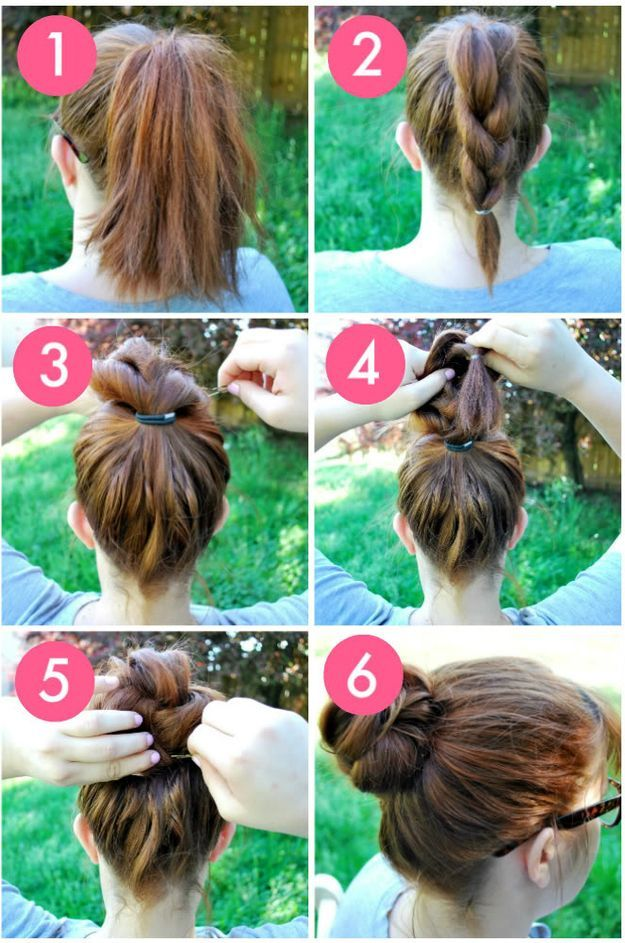 DIY Hairstyle | Quick and Easy Hair Tutorial For Work by Makeup Tutorials at mak...