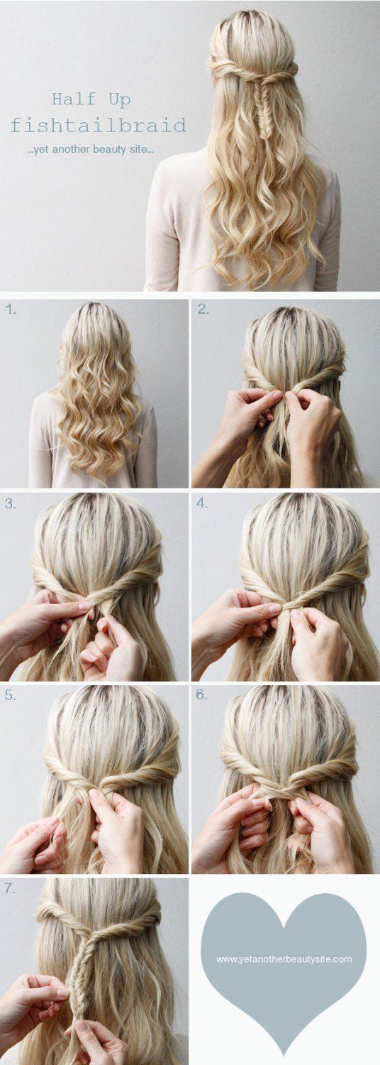 Hairstyle Tutorials | Step By Step Hair Updo by Makeup Tutorials at makeuptutori...