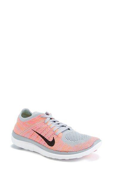 Nike 'Free Flyknit 4.0' Running Shoe...