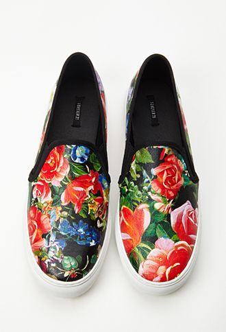 Hothouse Floral Slip-Ons...