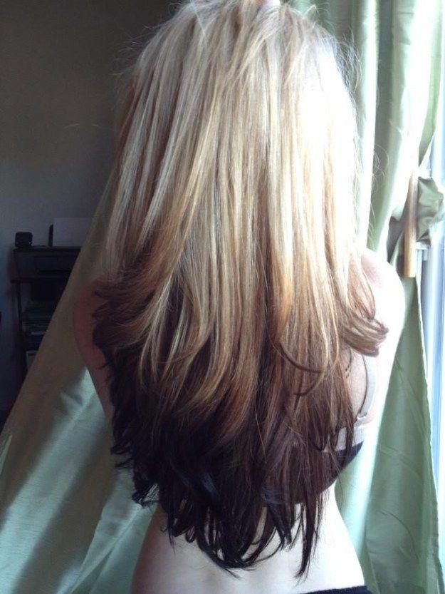 Reverse Blonde Brown Ombre | Makeup Tutorials makeuptutorials.c......