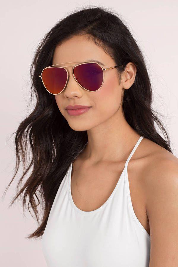 Double Take Aviator Sunglasses