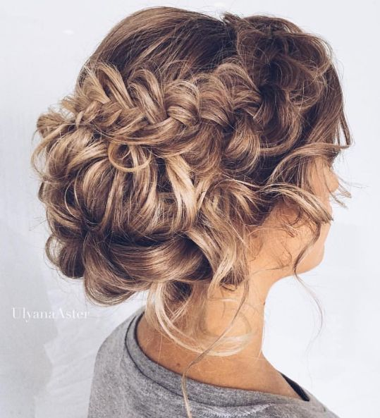 Featured Hairstyle: Ulyana Aster; www.ulyanaaster.com; Wedding hairstyle idea....
