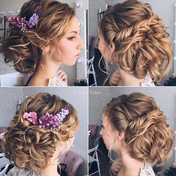 Featured Hairstyle: Ulyana Aster; Wedding hairstyle idea....