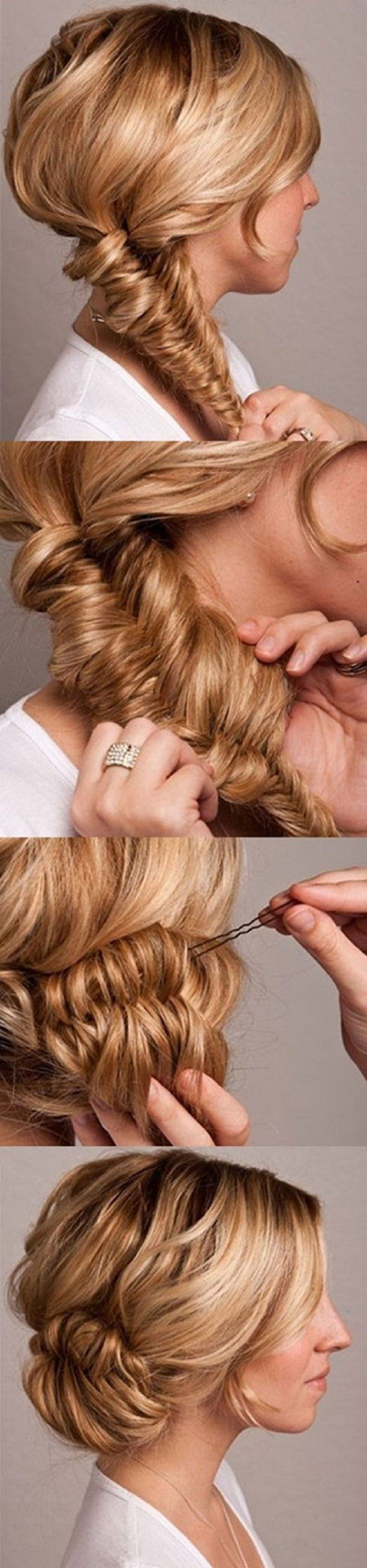 Braided Updos - 21 Lovely French Braid Tutorials For Every Woman | Step By Step ...