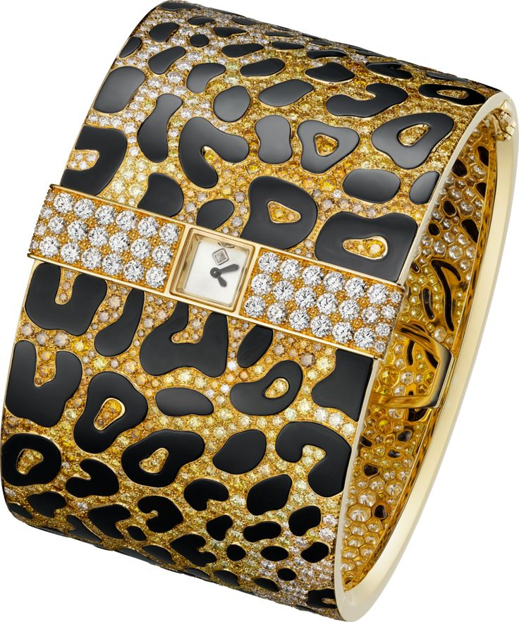 """CARTIER. High Jewellery """"Panthère Impériale"""" visible hour watch, Man..."""