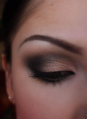 I seriously need to learn how to do that darker spot on the eyes....