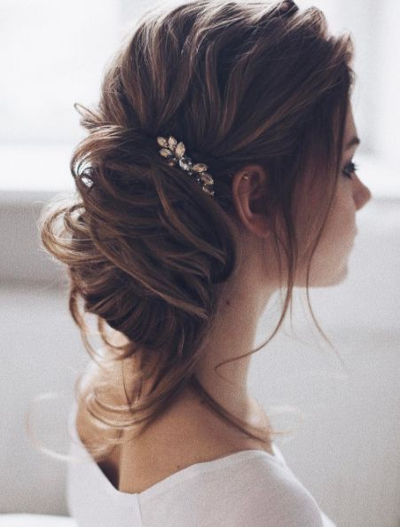 Tonya Pushkareva Wedding Hairstyle Inspiration - MODwedding