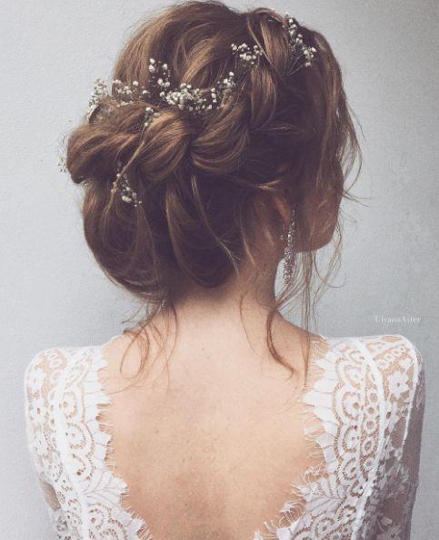 Featured Hairstyle: Ulyana Aster www.ulyanaaster.com; Wedding hairstyle idea....