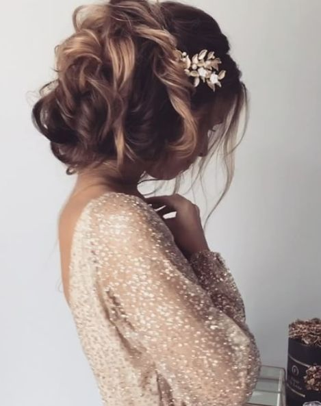 Ulyana Aster Wedding Hairstyle Inspiration - MODwedding