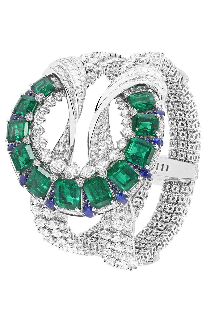 Van Cleef & Arpels Emerald Collection