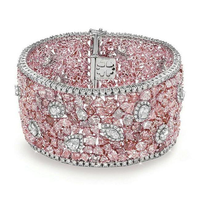 Almor Design Pink diamond bracelet...
