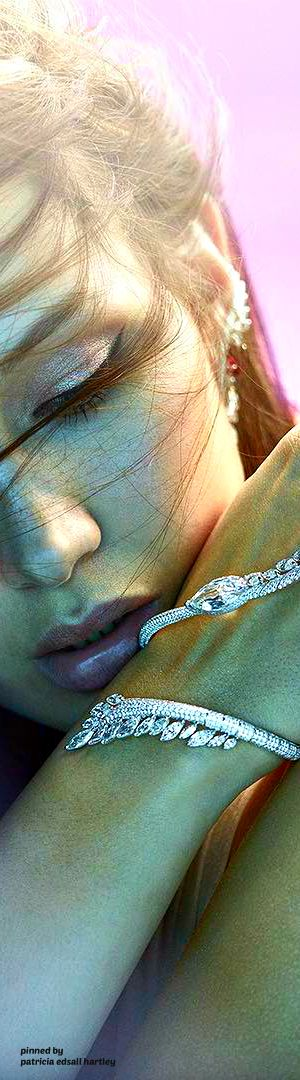 Bella Hadid for Boghossian Jewels...