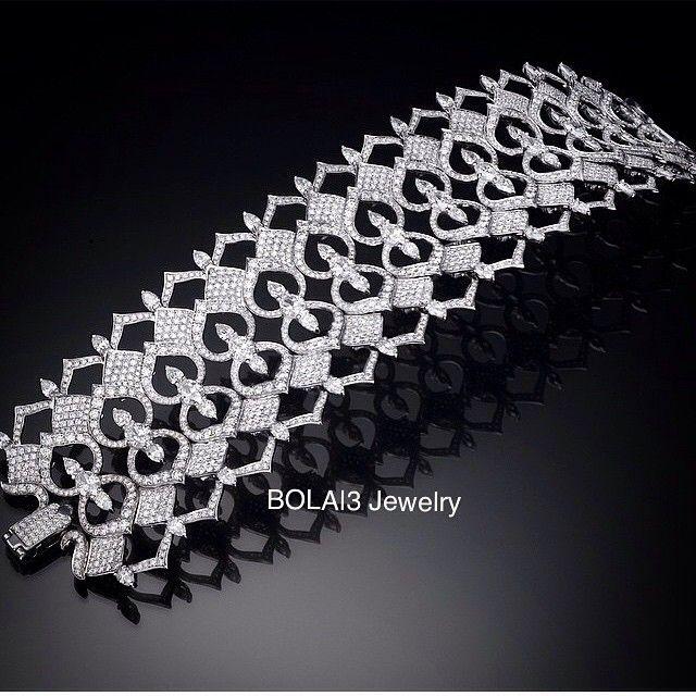 "BOLA | 3 Jewelry on Instagram: ""#ArmCandy!! #Diamond #Bracelet from @yanushgioielli #love #diamondsareforever #like #nice #amazing #extraordinary…"""