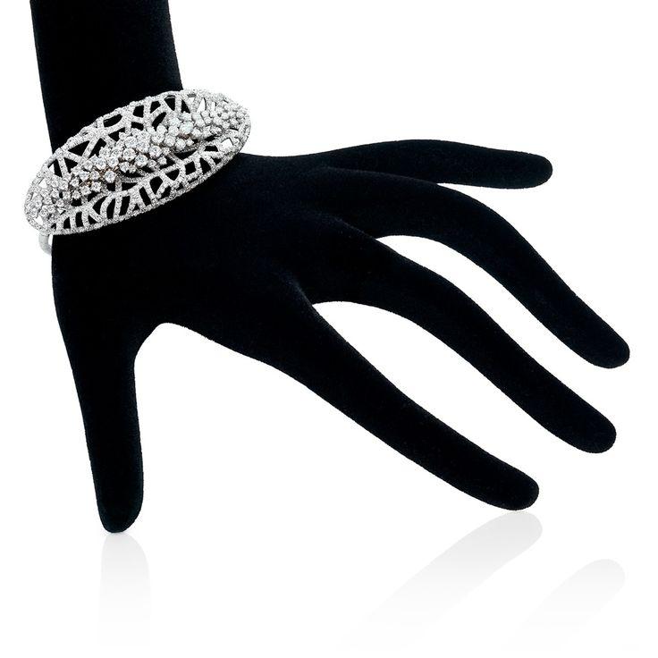 Crystal Glacier Bracelet - Fine Jewellery...