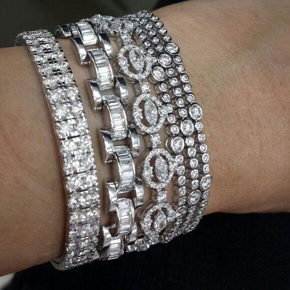 Diamonds Bracelets...