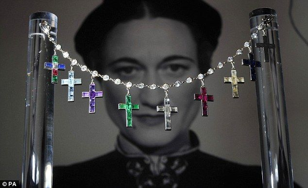 The million pound bracelet: Stunning jewels owned by Wallis Simpson on display at Sotheby's ahead of auction