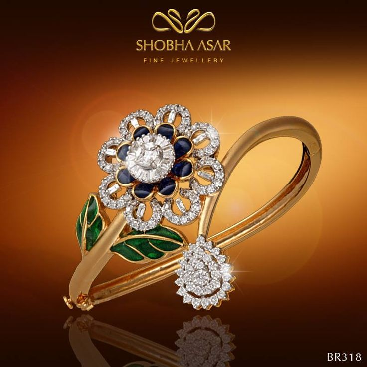 #Floral #bracelets that make you feel #special! #ShobhaAsar #ShobhaAsarJewels #S...