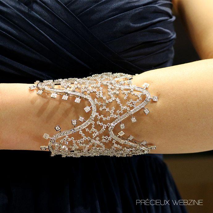 High jewelry bracelet, Kimberlite Diamond