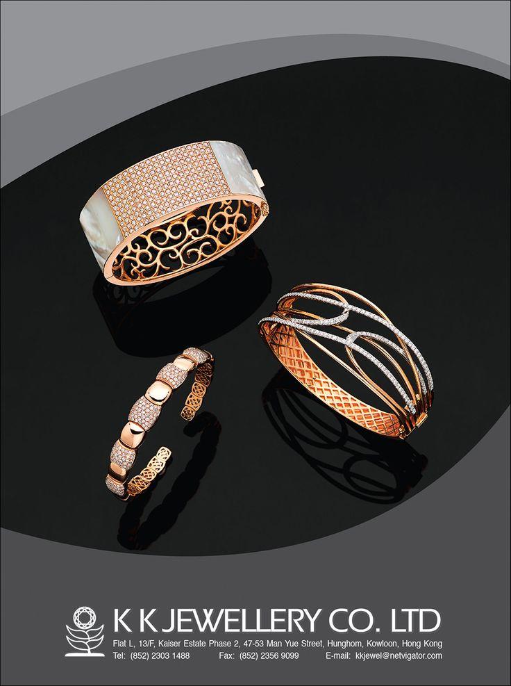 K K Jewellery Company Ltd. #HKJE #Magazine #FallWinter2015 #Advertisement…...