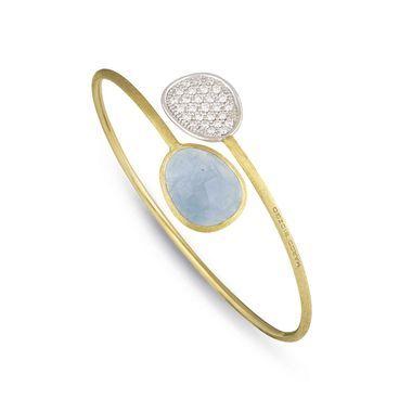 Marco Bicego Lunaria aquamarine bracelet...