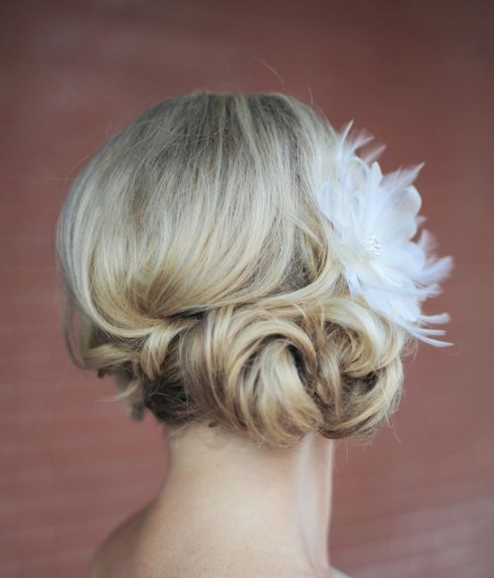Featured Photographer: Erica Rose Photography; Wedding hairstyle idea....