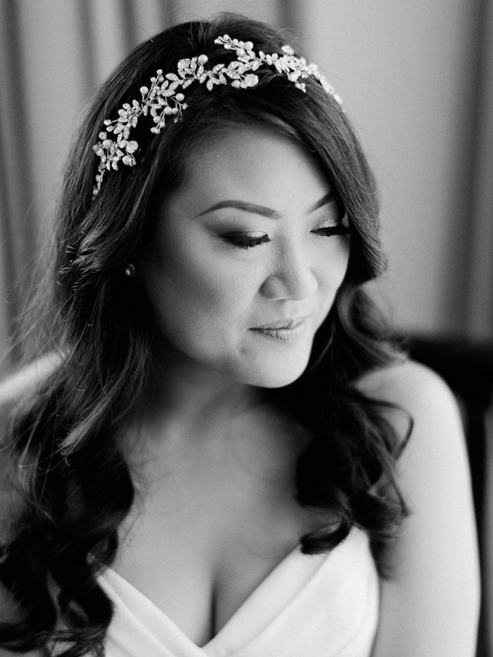 Featured Photographer: Merari Photography; wedding hair accessory