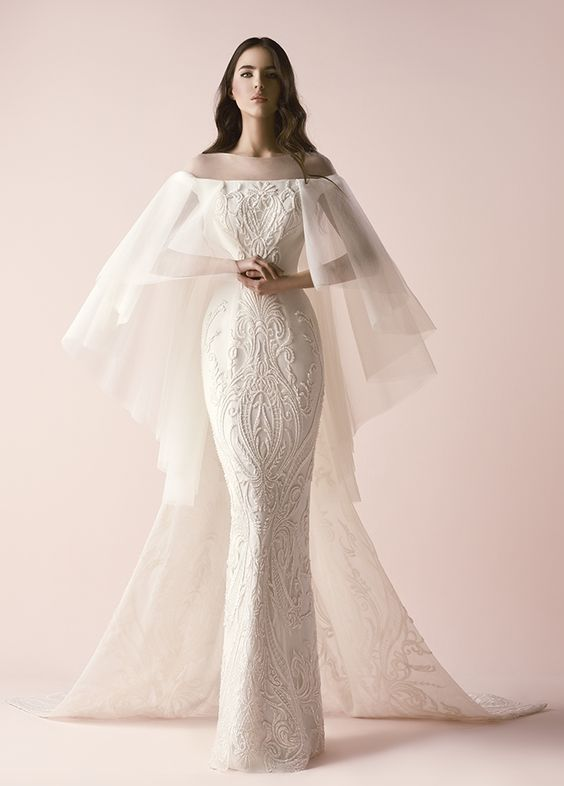 Featured Wedding Dress: Saiid Kobeisy; www.saiid-kobeisy.com/; Wedding dress ide...