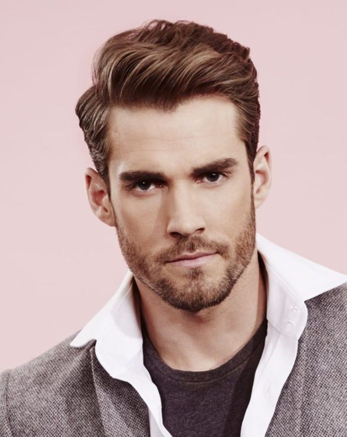 hair style mens fashionable s haircuts brushed up hairstyle 3357