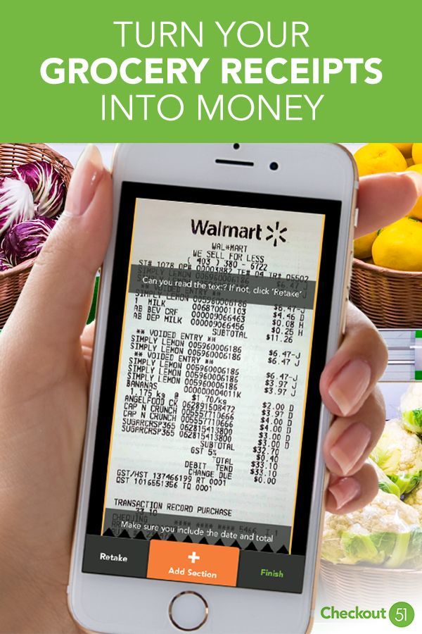 Checkout 51 is the free app that gives you cash for the groceries you already bu...