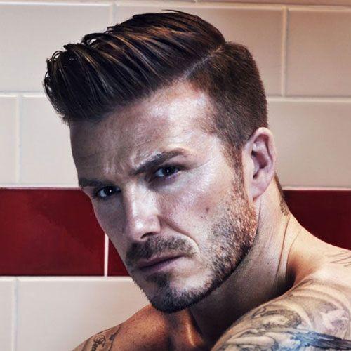 David Beckham Hairstyles | Men's Hairstyles   Haircuts 2017...