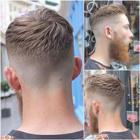 Fashionable Mens Haircuts. : Men's Hair Haircuts Fade Haircuts short medium ...