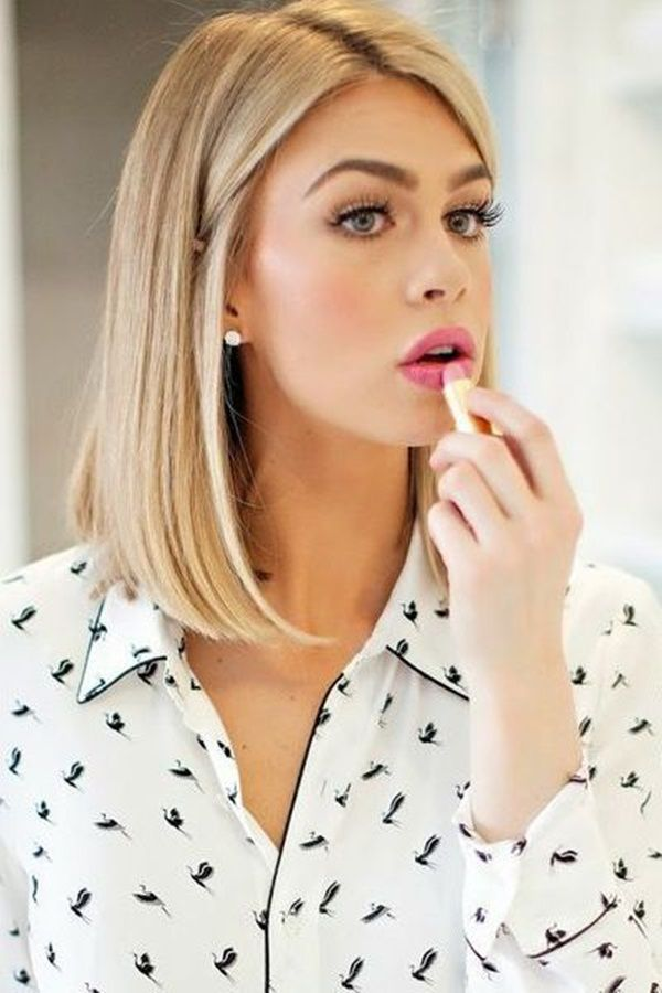 Gorgeous Shoulder Length Hairstyles to Try This Year (4)...