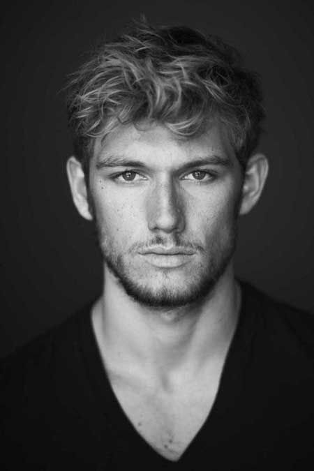 Medium short haircuts for men with curly hair...