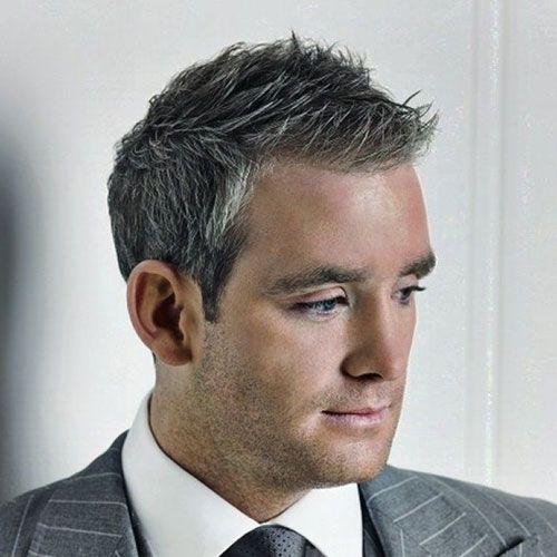Men's Grey Hairstyles                                                       ...