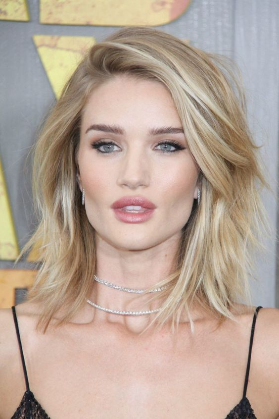 Rosie Huntington-Whiteley hair - These best celebrity hairstyles will have you h...