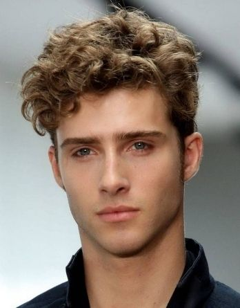 Short Curly Haircuts For Men Images