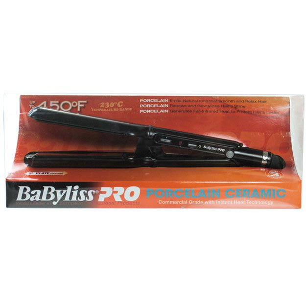 Babyliss Pro Porcelain Plate Ceramic Flat Iron Review
