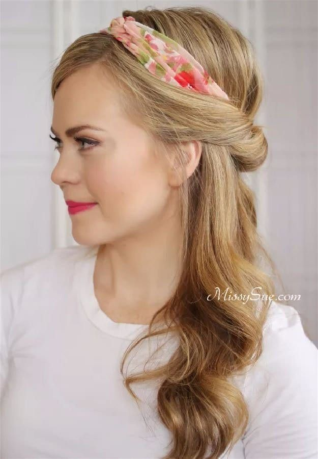 Half Tuck | 20 Hairstyles for Work | Quick and Easy Hairstyles You Can Do...