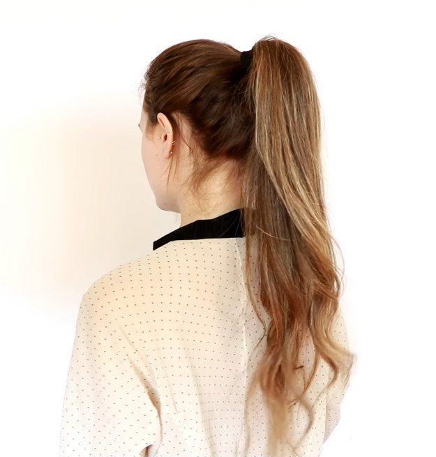 High Ponytail | 20 Hairstyles for Work | Quick and Easy Hairstyles You Can Do