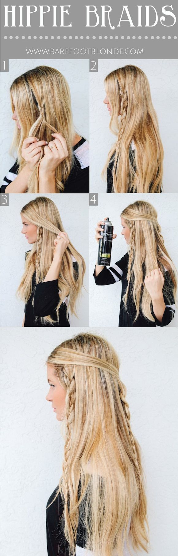 10 Of The Best Braided Hairstyles | Awesome DIY Hair Updo For Long Hair By Makeu...
