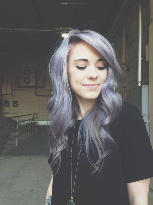 Lavender Hair | 10 Awesome Silver Hair Colors Ideas | Absolutely Gorgeous And St...