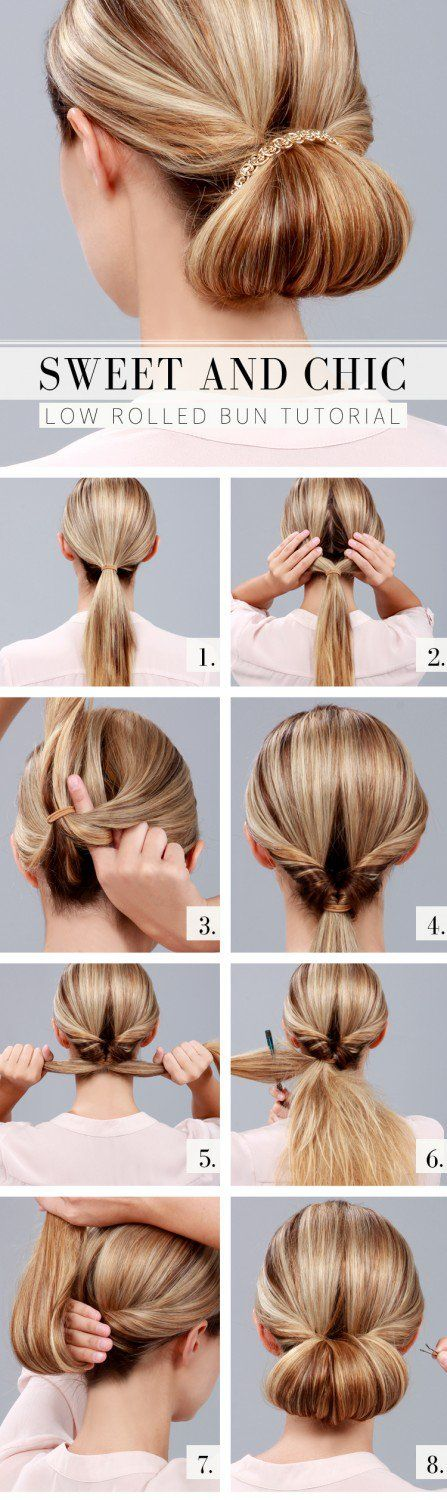 Hairstyles For Long Hair Roll Updo Hairstyles For Long Hair 14